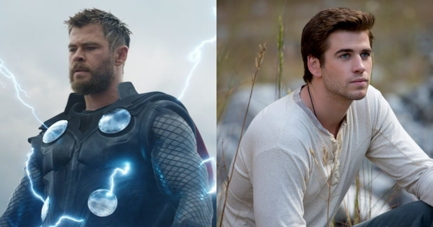 Chris Hemsworth Liam Hemsworth Miley Cyrus Avengers