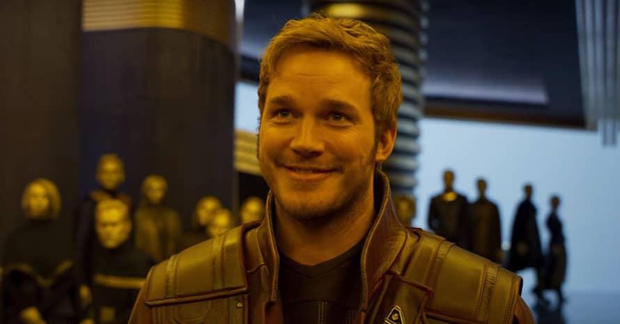 Chris Pratt Star-Lord MCU Guardians of the Galaxy James Gunn Avengers Dave Bautista