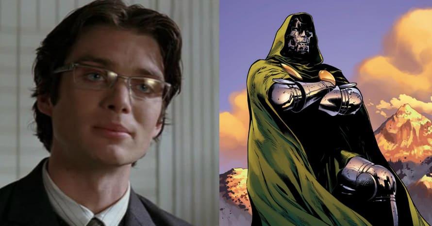 Cillian Murphy Doctor Doom Fantastic Four Batman