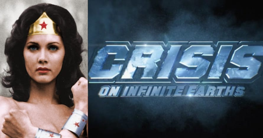 Crisis On Infinite Earths Lynda Carter Wonder Woman