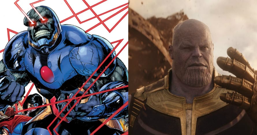 Darkseid Thanos Justice League Avengers New Gods Ava DuVernay