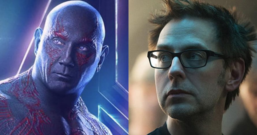 Dave Bautista DC James Gunn Suicide Squad Avengers