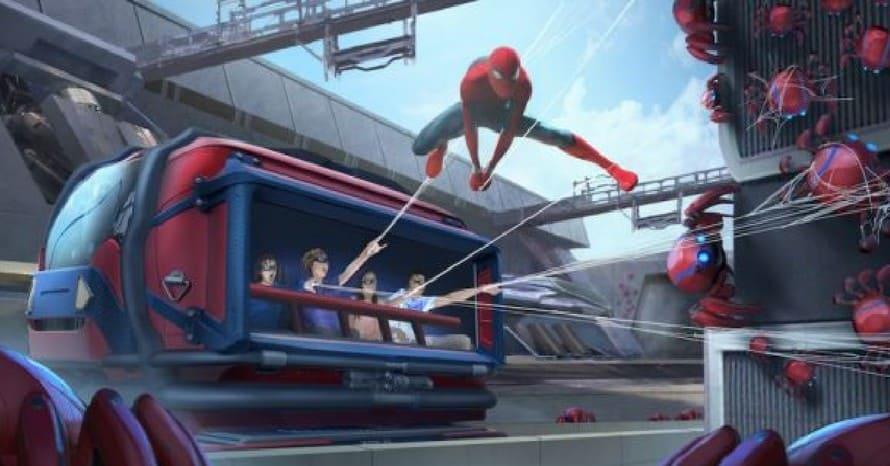 Disneyland Avengers Campus Spider-Man Disney Sony Marvel