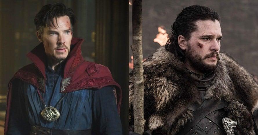 Doctor Strange Benedict Cumberbatch Kit Harington Black Knight Eternals