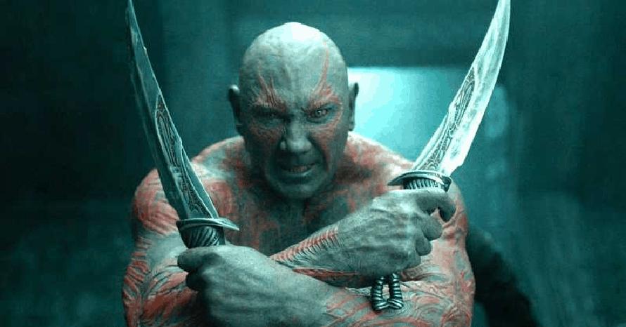 Dave Bautista James Gunn Guardians of the Galaxy Drax Avengers Mantis