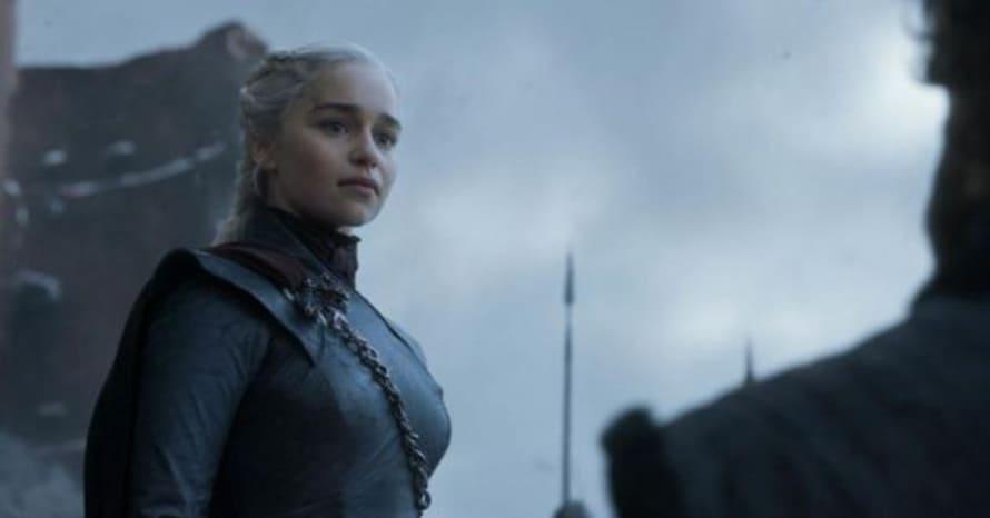 Game of Thrones Drogon Emmy Emilia Clarke Daenerys