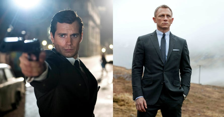 See Henry Cavill Replace Daniel Craig As James Bond In New Image