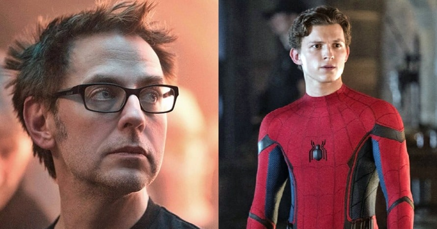 James Gunn Tom Holland Spider-Man Sony