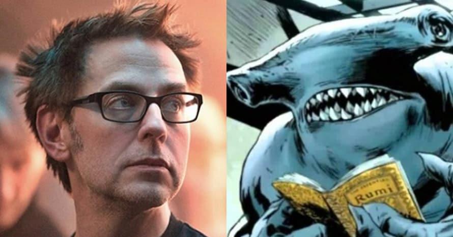 James Gunn The Suicide Squad King Shark