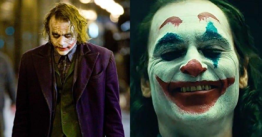 Joker Heath Ledger Joker Joaquin Phoenix
