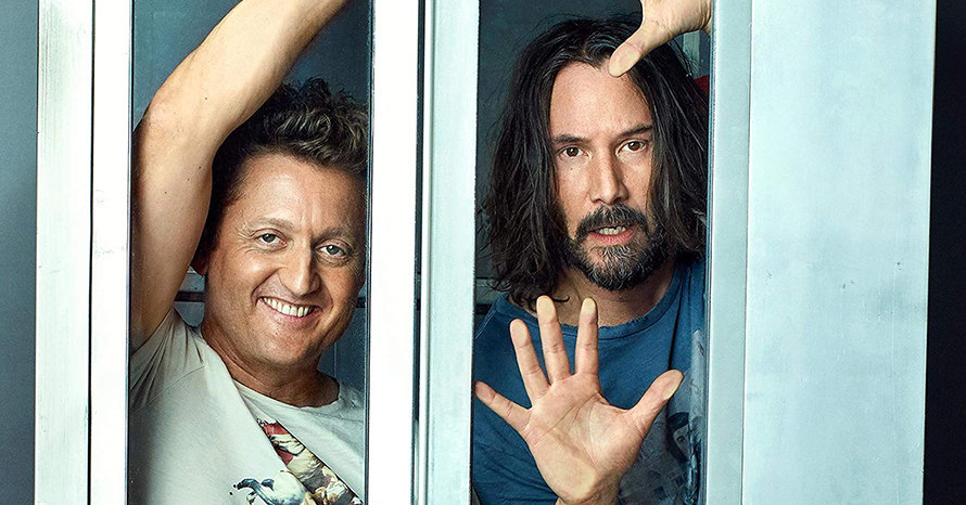 Keanu Reeves Bill and Ted