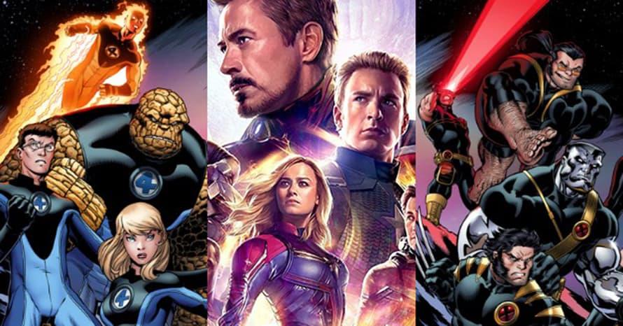 Marvel Studios MCU Disney Fox X Men Fantastic Four