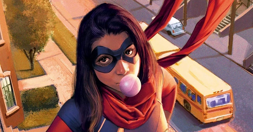 Iman Vellani Marvel Studios Ms. Marvel Kamala Khan Disney Plus