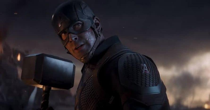 Mjolnir Chris Evans Captain America Avengers Endgame Thor