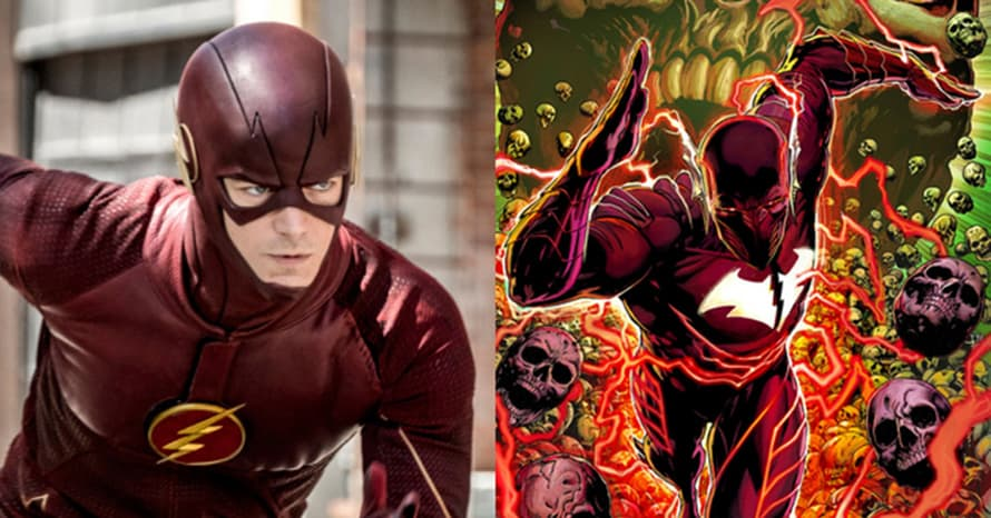 Red Death Grant Gustin The Flash