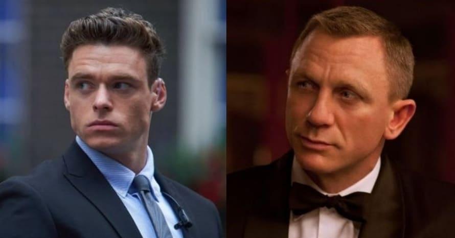 Richard Madden Daniel Craig James Bond Bodyguard