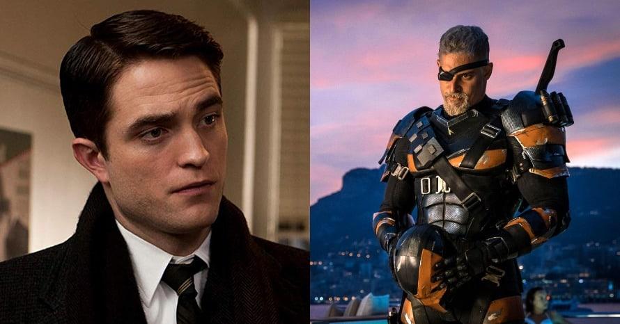 Robert Pattinson Batman Deathstroke Joe Manganiello