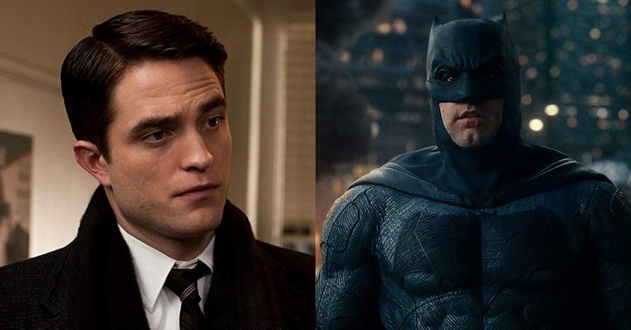 Robert Pattinson Ben Affleck Batman Beyond