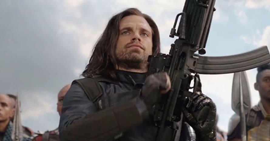 Sebastian Stan Falcon and the Winter Soldier Chris Evans Captain America