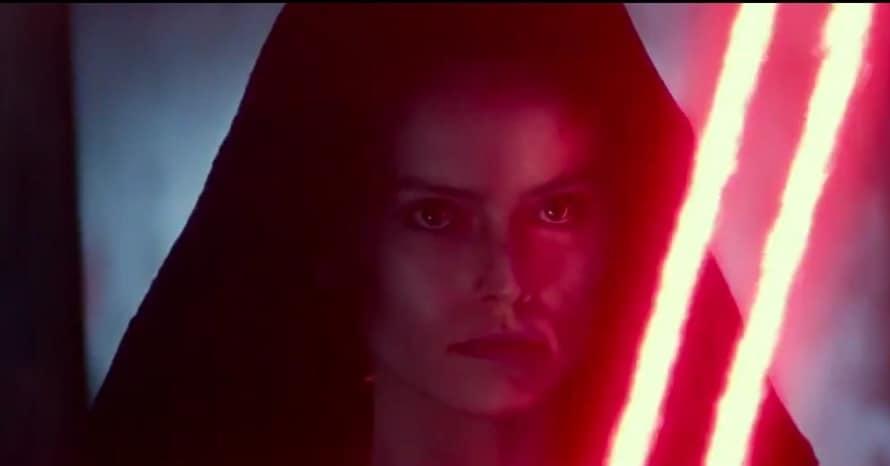 Star Wars The Rise of Skywalker Daisy Ridley Dark Rey Dark Side Kylo Ren