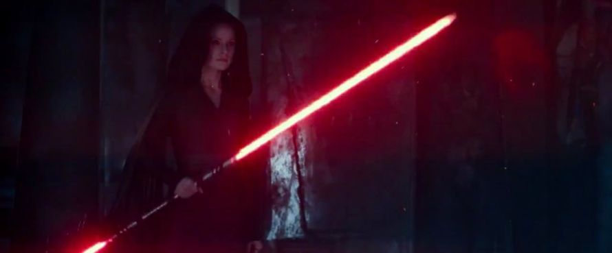 Star Wars The Rise of Skywalker Dark Side Rey Daisy Ridley
