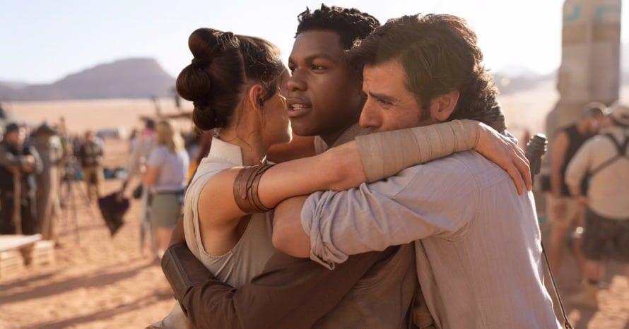 Star Wars The Rise of Skywalker Daisy Ridley Oscar Isaac