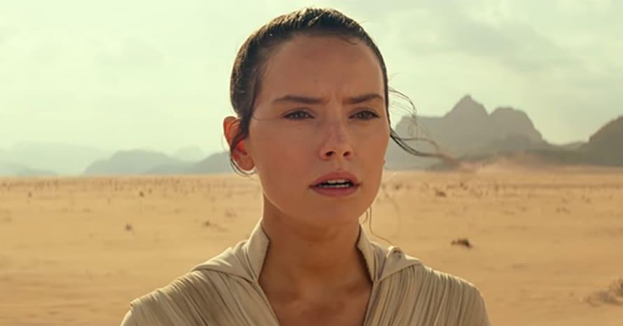Star Wars The Rise Of Skywalker D23 Daisy Ridley Disney Rey George Lucas Last Jedi J. J. Abrams Colin Trevorrow Kylo Ren Marvel