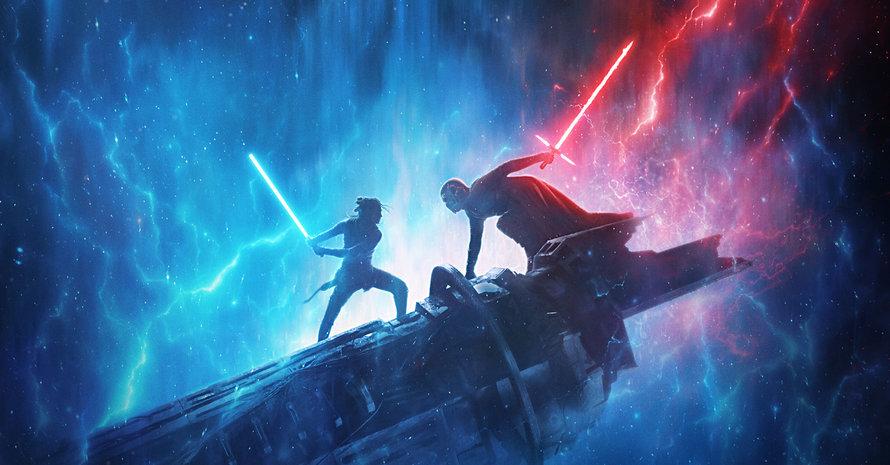 Star Wars The Rise of Skywalker Rey Kylo Ren Daisy Ridley Adam Driver Chris Terrio