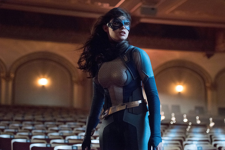 Supergirl Melissa Benoist Event Horizon Nicole Maines
