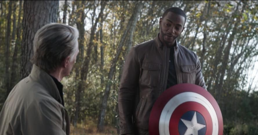 The Falcon and the Winter Soldier Anthony Mackie Captain America Chris Evans