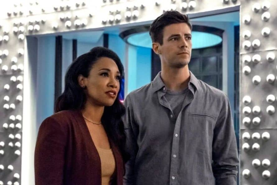 The Flash Grant Gustin Into the Void Candice Patton