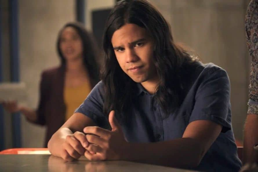 The Flash Grant Gustin Into the Void Carlos Valdes