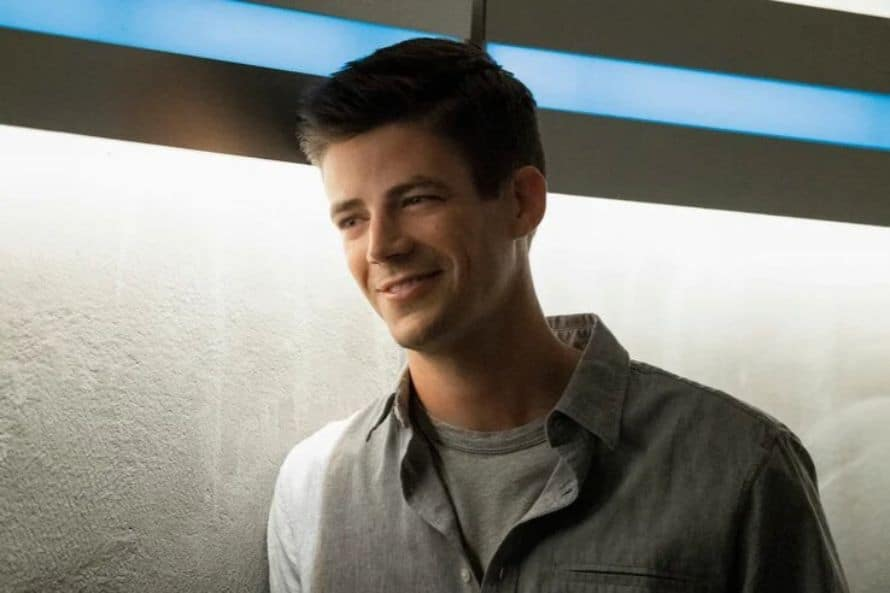 The Flash Grant Gustin Into the Void