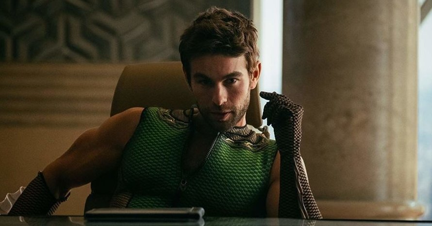 Chace Crawford The Boys Captain America