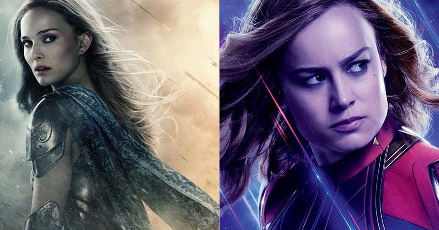 Thor Natalie Portman Avengers Captain Marvel Brie Larson