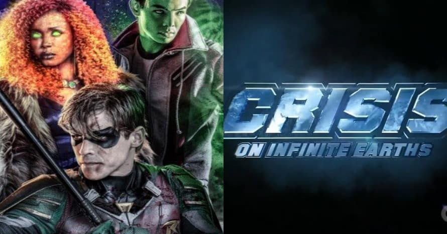Titans Crossover in Crisis On Infinite Earth