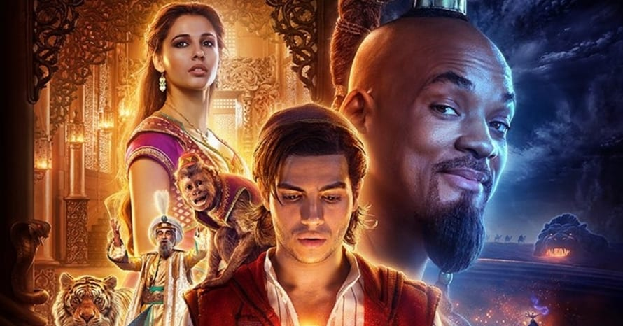 Aladdin Naomi Scott Mena Massoud Disney