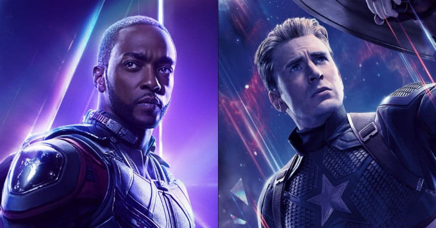 Chris Evans Captain America Anthony Mackie Falcon Winter Soldier Avengers