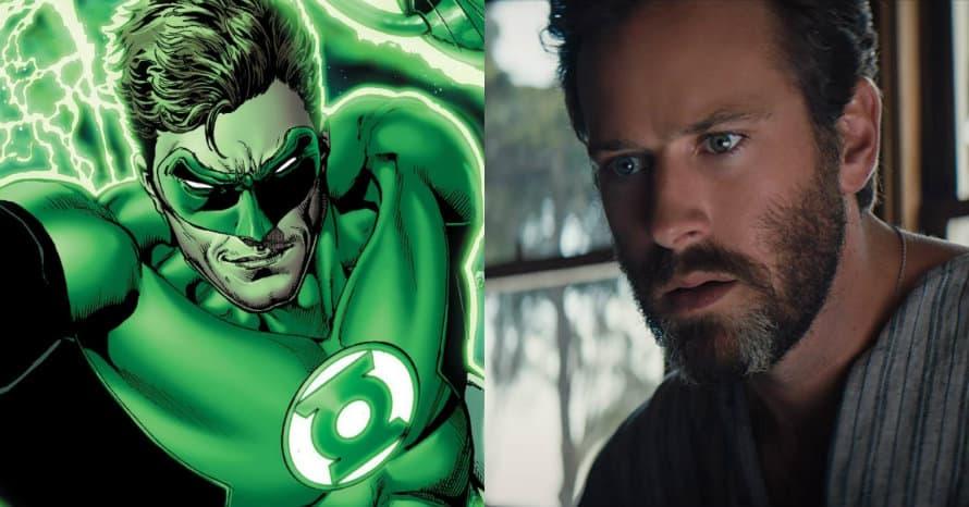 Armie Hammer Green Lantern DCEU Hal Jordan