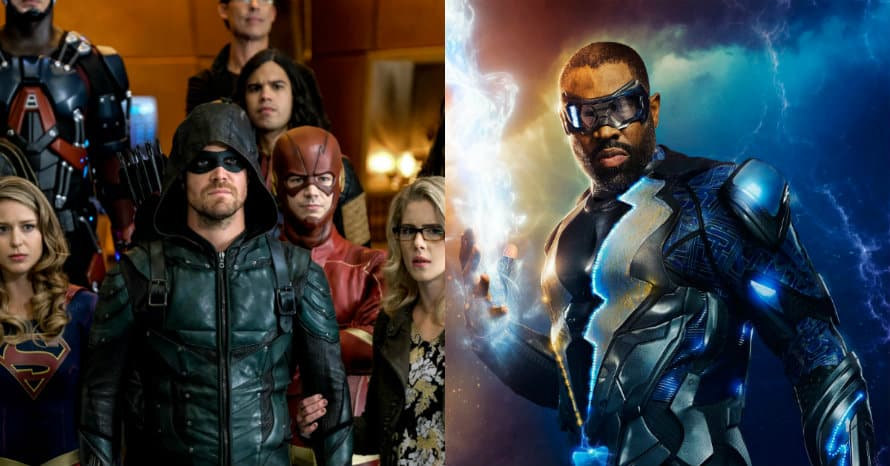 Marc Guggenheim Black Lightning Crisis on Infinite Earths Cress Williams Arrowverse