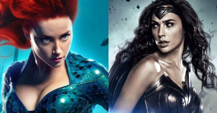 Amber Heard Aquaman Mera Wonder Woman Gal Gadot Flashpoint