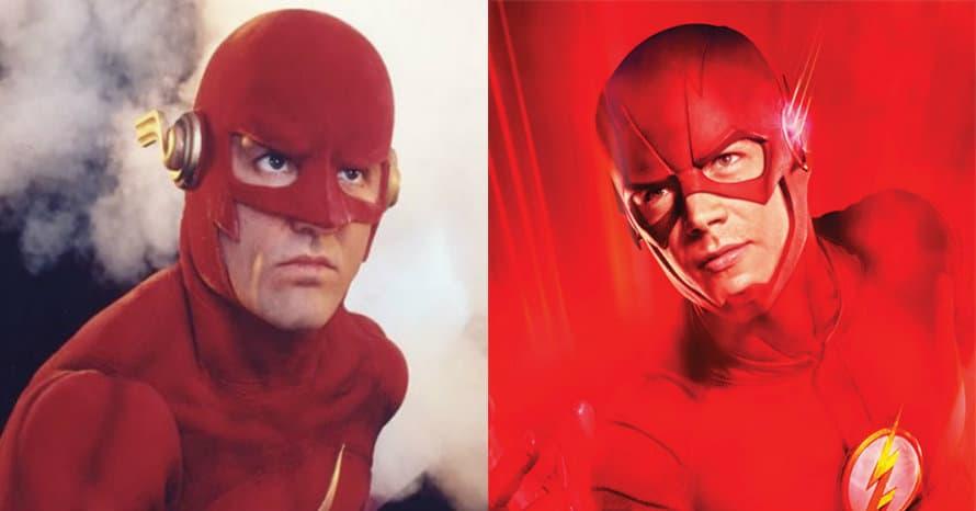 Grant Gustin John Wesley Shipp The Flash
