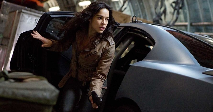 Michelle Rodriguez Fast and Furious Hobbs and Shaw