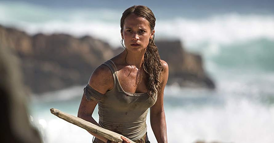 Alicia Vikander Tomb Raider Ben Wheatley Misha Green