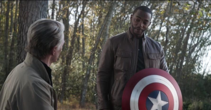 Anthony Mackie Captain America Avengers Endgame The Falcon and The Winter Soldier Sam Wilson
