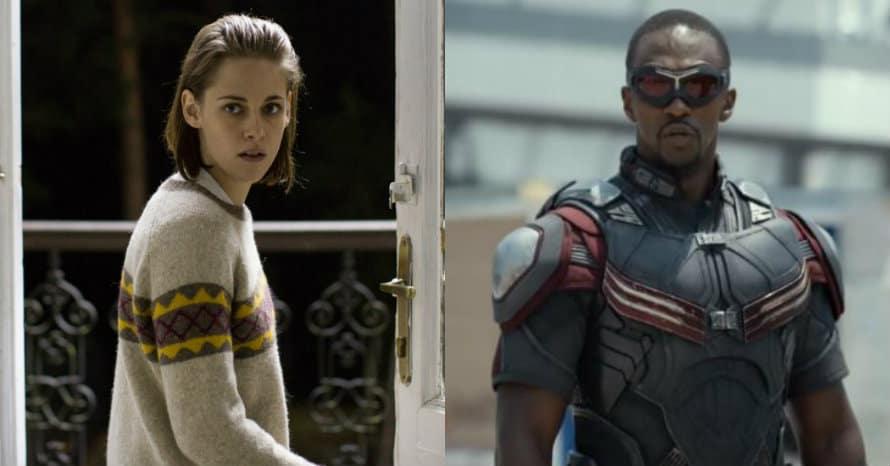 Anthony Mackie Kristen Stewart Captain America