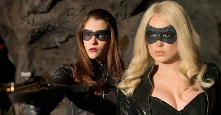 Arrow Arrowverse Birds of Prey DC Comics