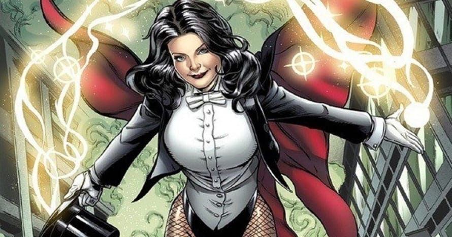 Arrow Arrowverse DC Comics Zatanna