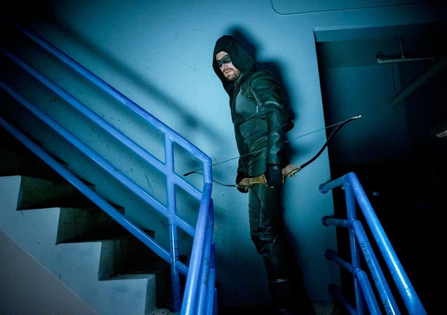 Arrow Stephen Amell Starling City Costume