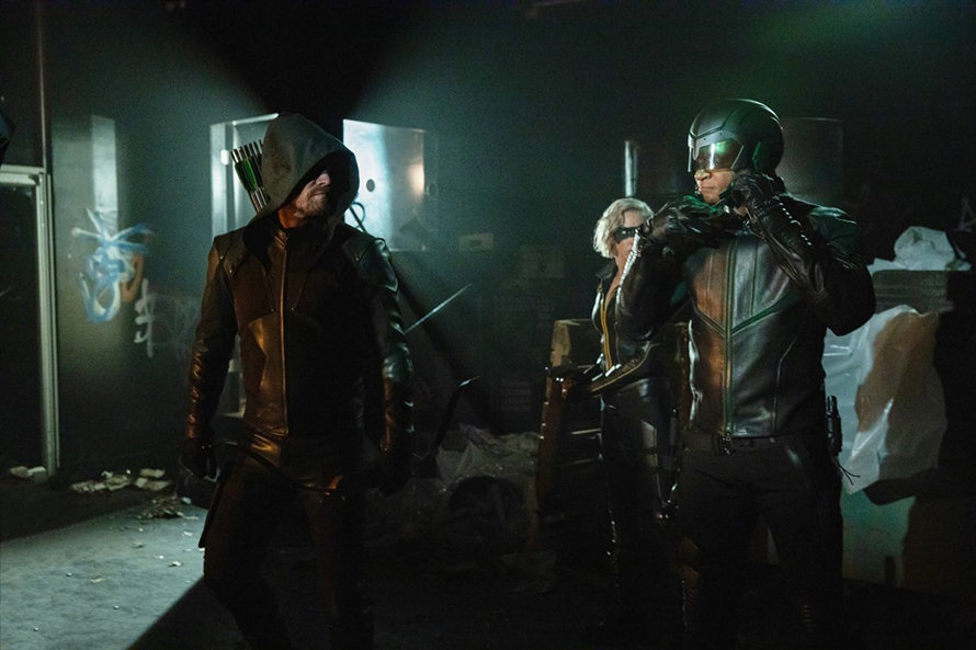 Arrow Stephen Amell Starling City Team